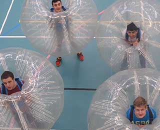 Pentreve Bubble Football