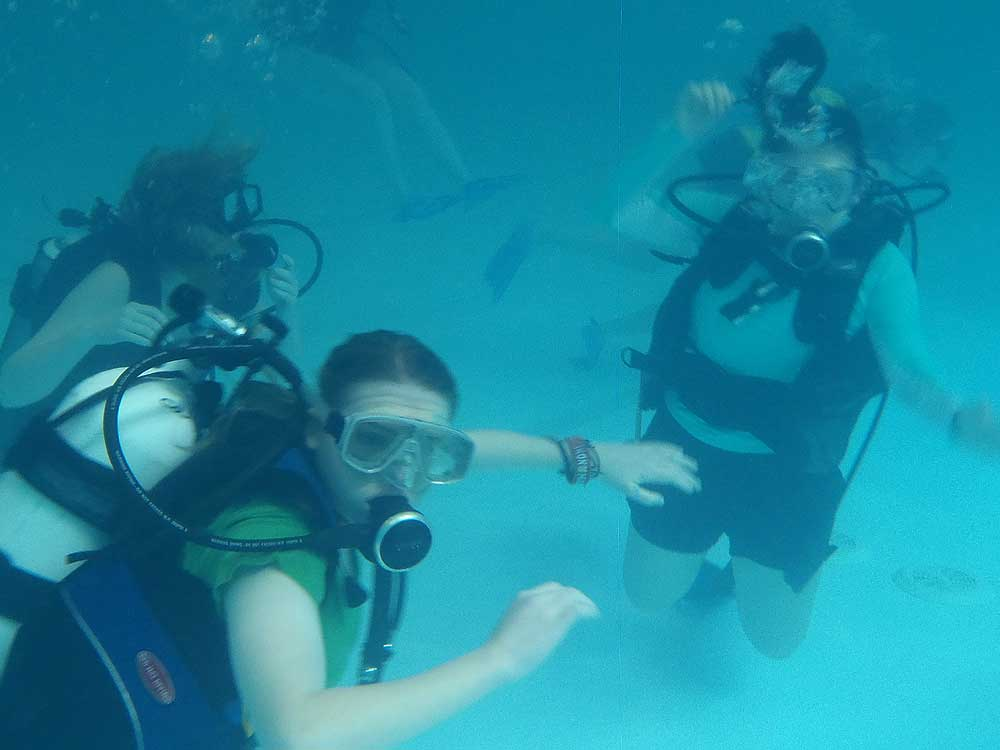Truro Boarding School Scuba Diving