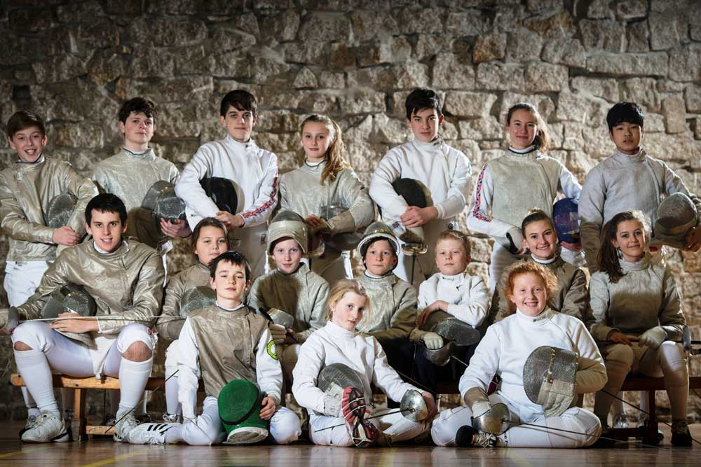 Truro Fencing Club and Truro School Partnership