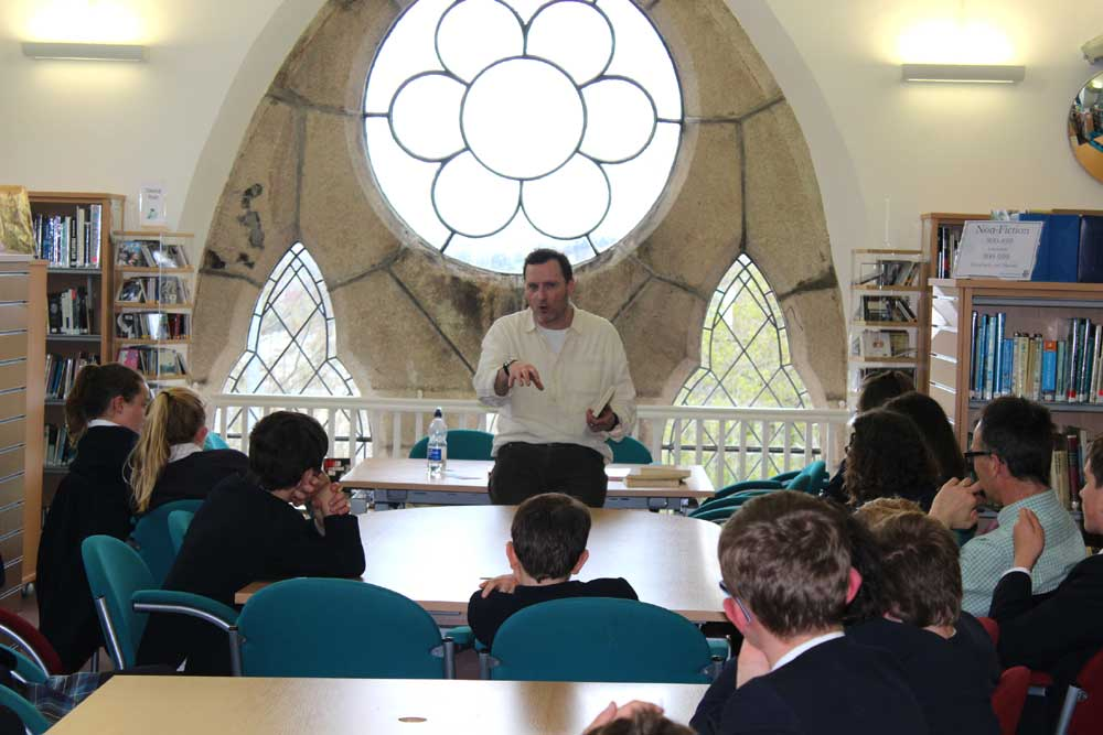 English with Anthony McGowan at Truro School