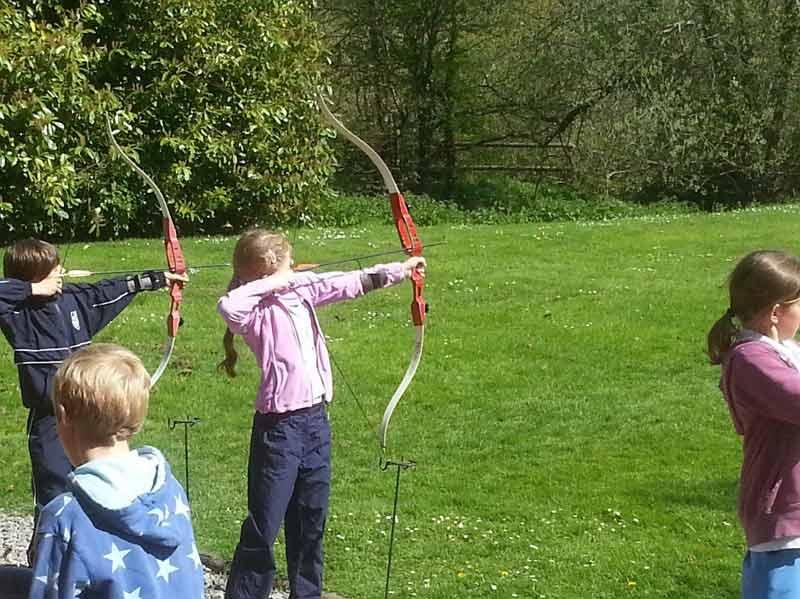 Archery at Truro Prep School - Outdoor Education