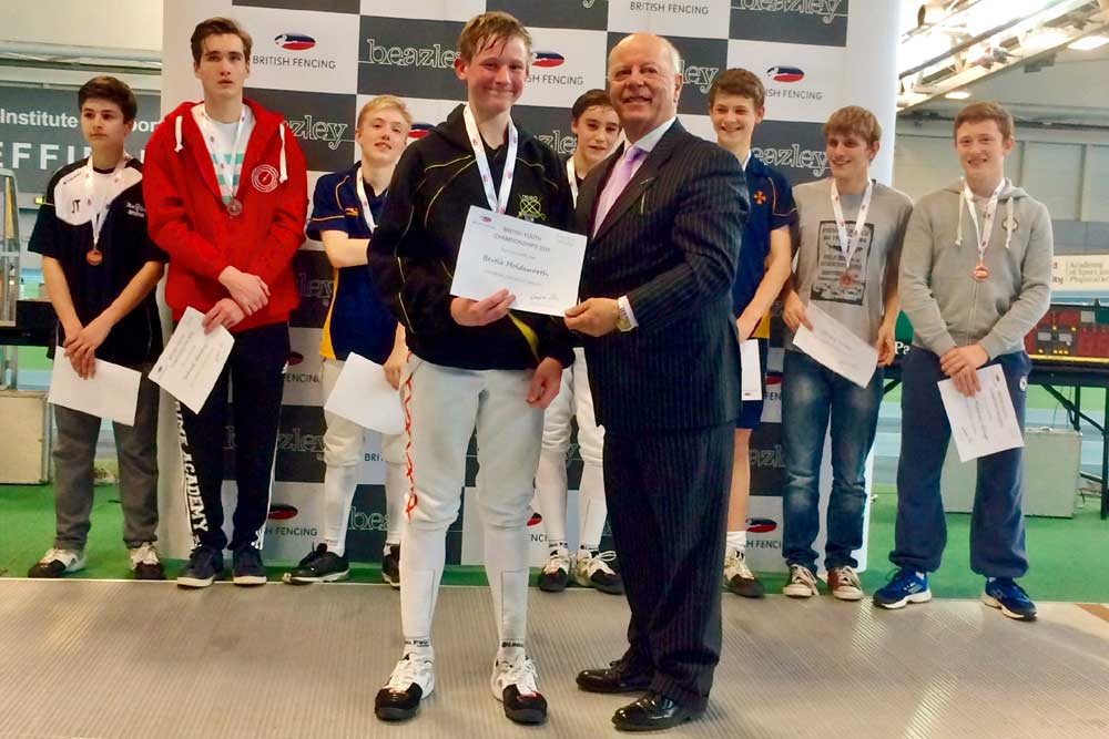 Bertie-Holdsworth-British-Youth-Fencing-Championships