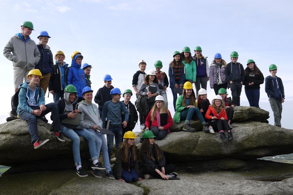 Truro School - GCSE Geology - Trip to Carn Brea