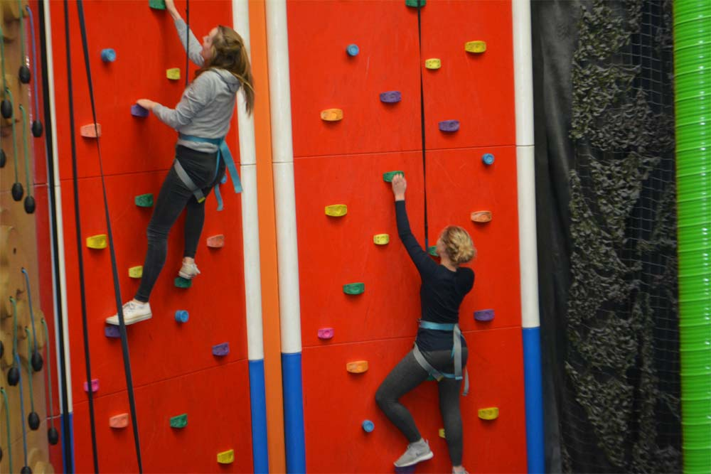 Senior Girls Boarding - Climbing Activity