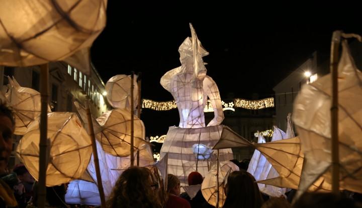 City of Lights, Truro School, Parade, Cornwall.