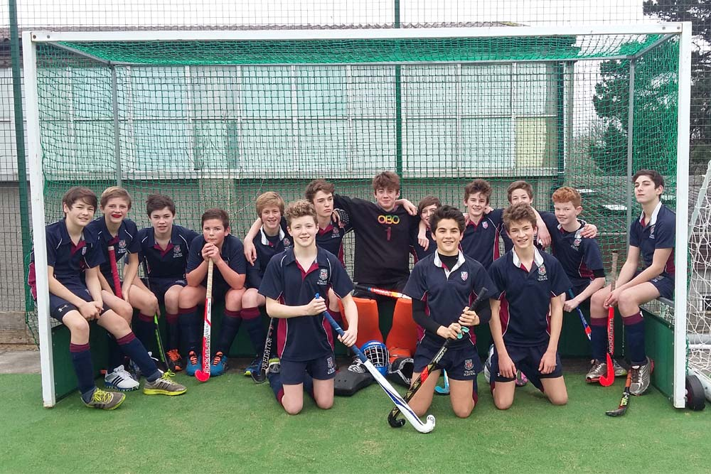 Under 14 Boys' Hockey Team
