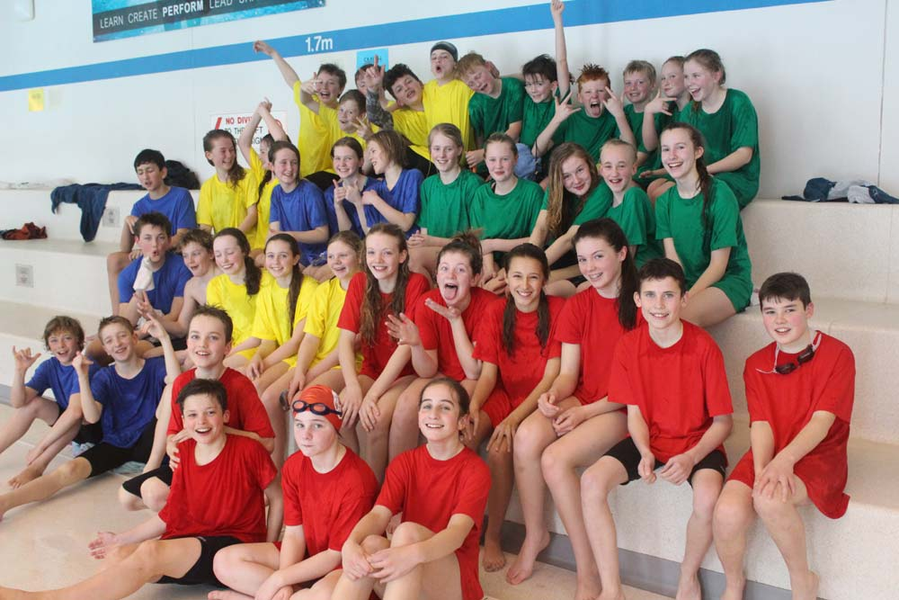 Swimming at Truro School Swimming Pool