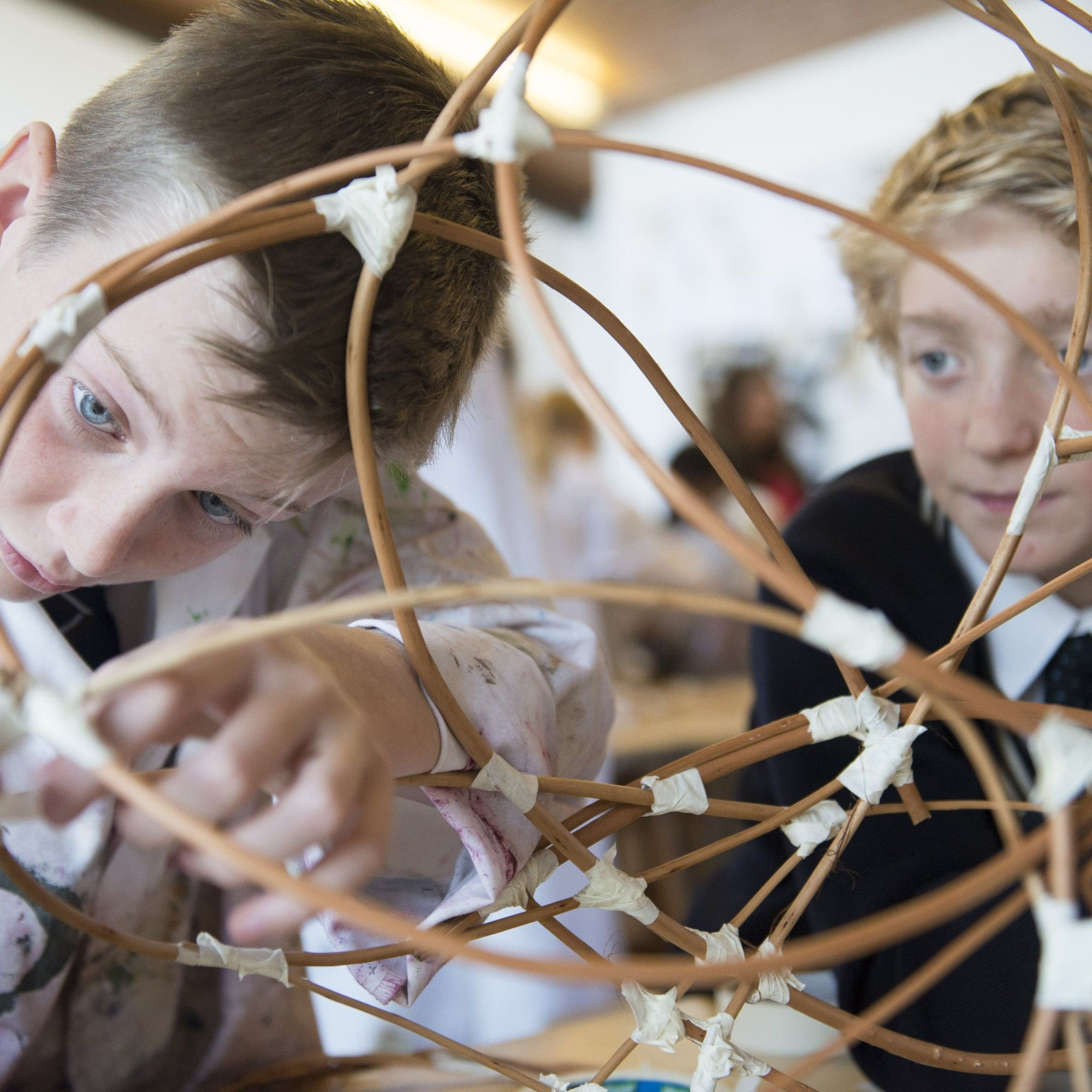 Creative Arts at Truro School, Cornwall, south-west England