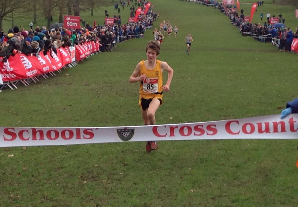 Harris Mier - Cross Country at Truro School, National Champion