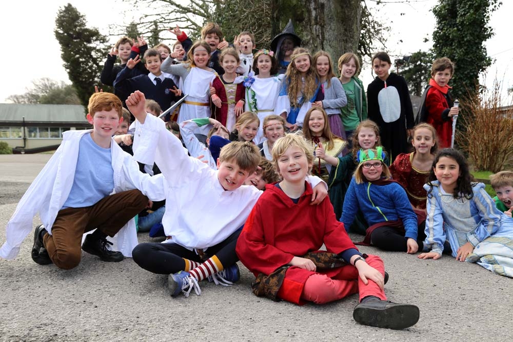 Truro Prep - English, World Book Day 2016, Cornwall