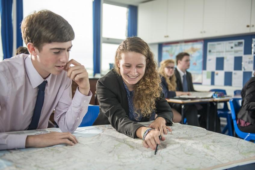 Sixth Form, Geography Lesson, Truro School