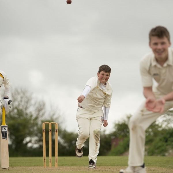 Cricket, School, England, Truro, Cornwall