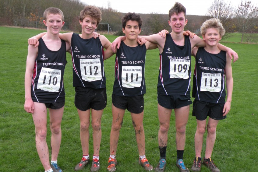 cross country national champions at junior level, truro school, cornwall
