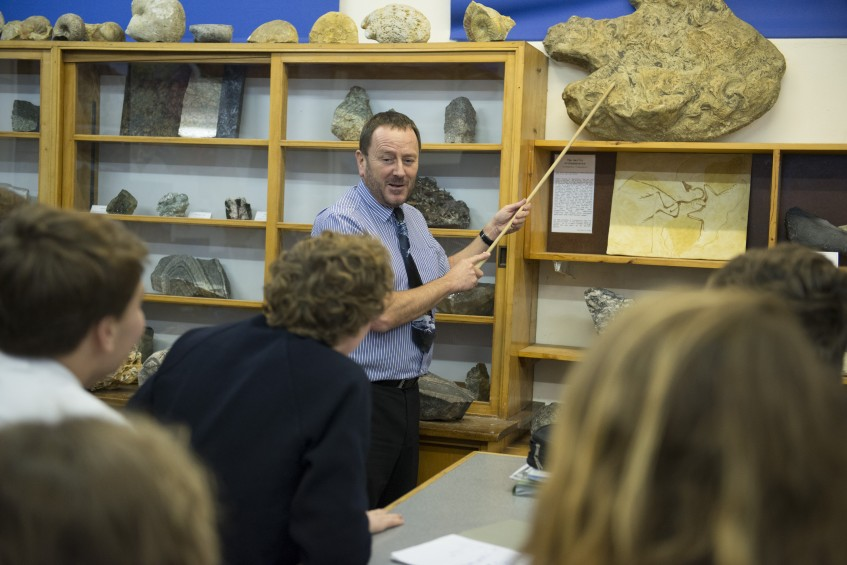 geology at truro school, award winning school, cornwall