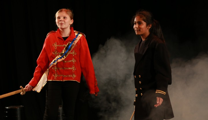 drama at Truro School, burrell theatre
