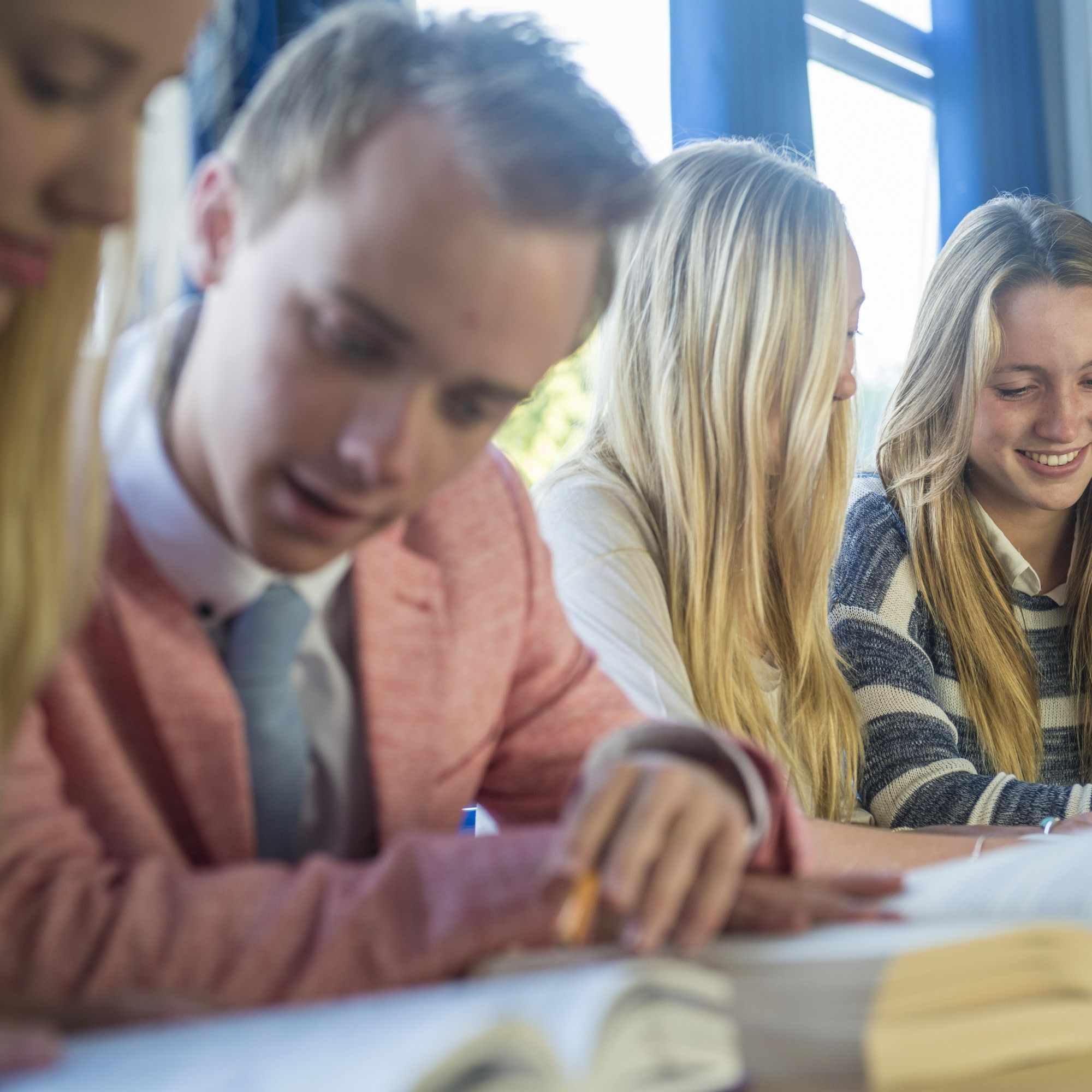 spanish, french and german at Truro School, GCSE and A-Level