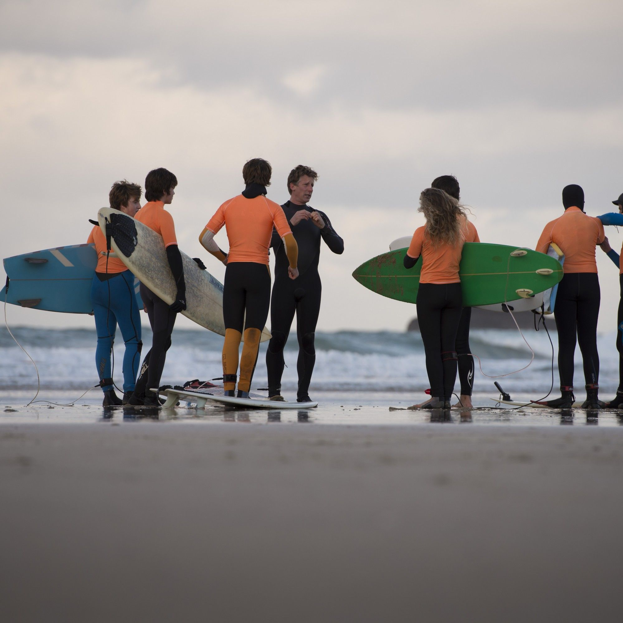 surfing academy at truro school in cornwall
