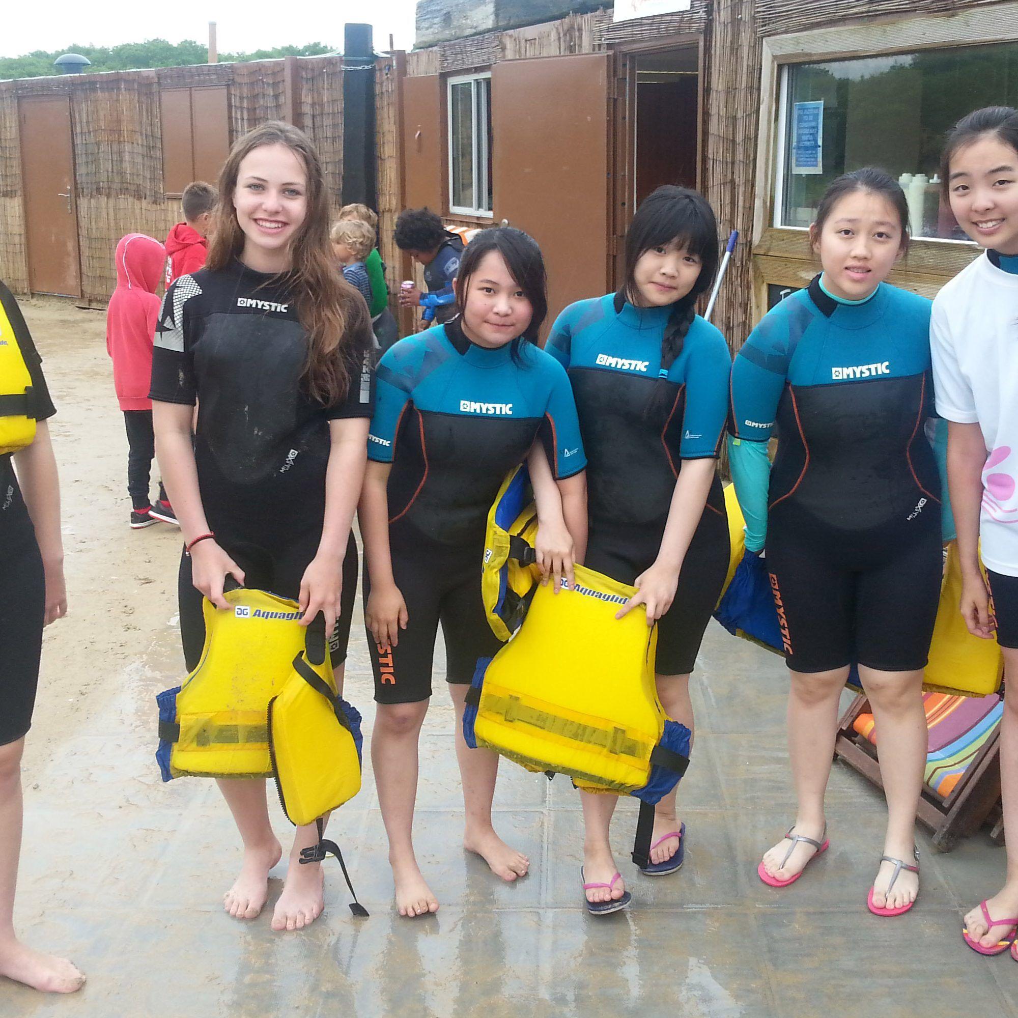 boarding girls watersports southwest