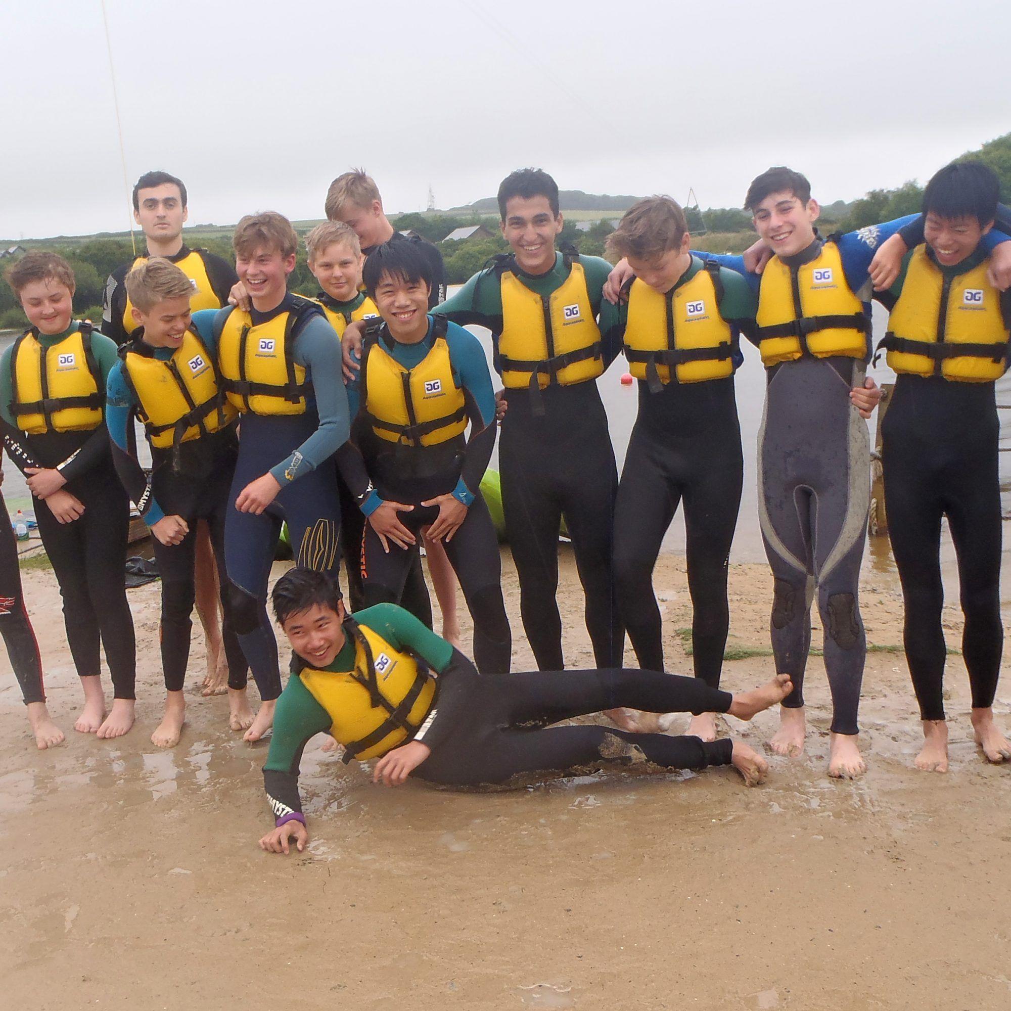 boarding students at Truro School