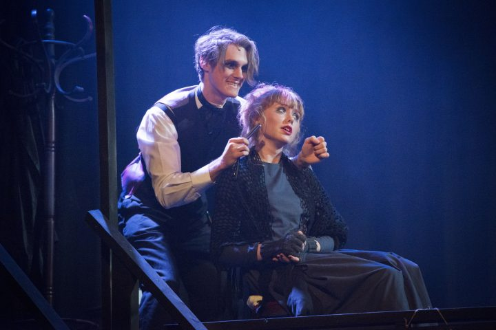 Sweeny Todd in the Burrell Theatre, Truro