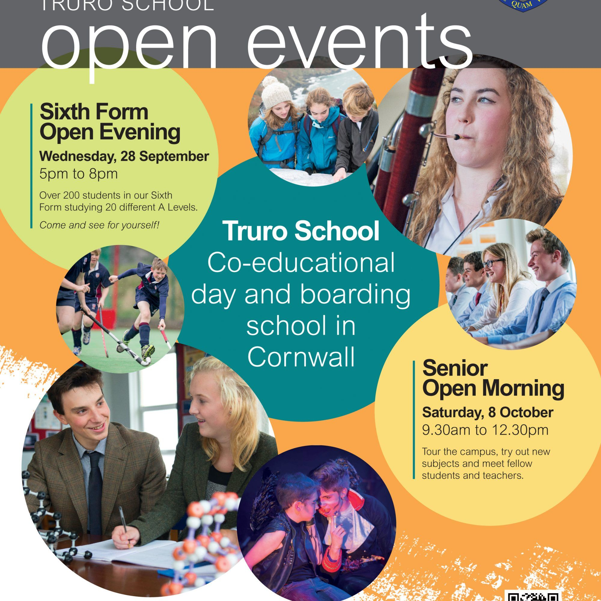 Open Events Truro School 2016, Cornwall, UK