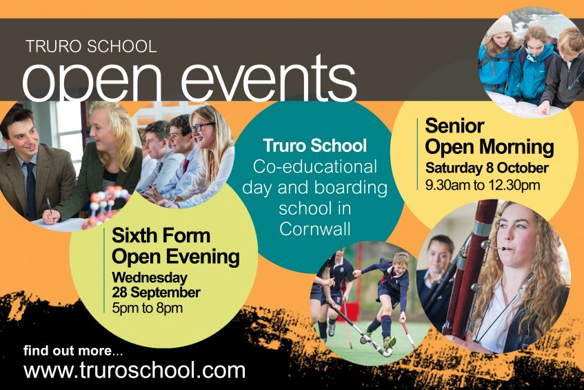 Open Event, Open Morning at Truro School