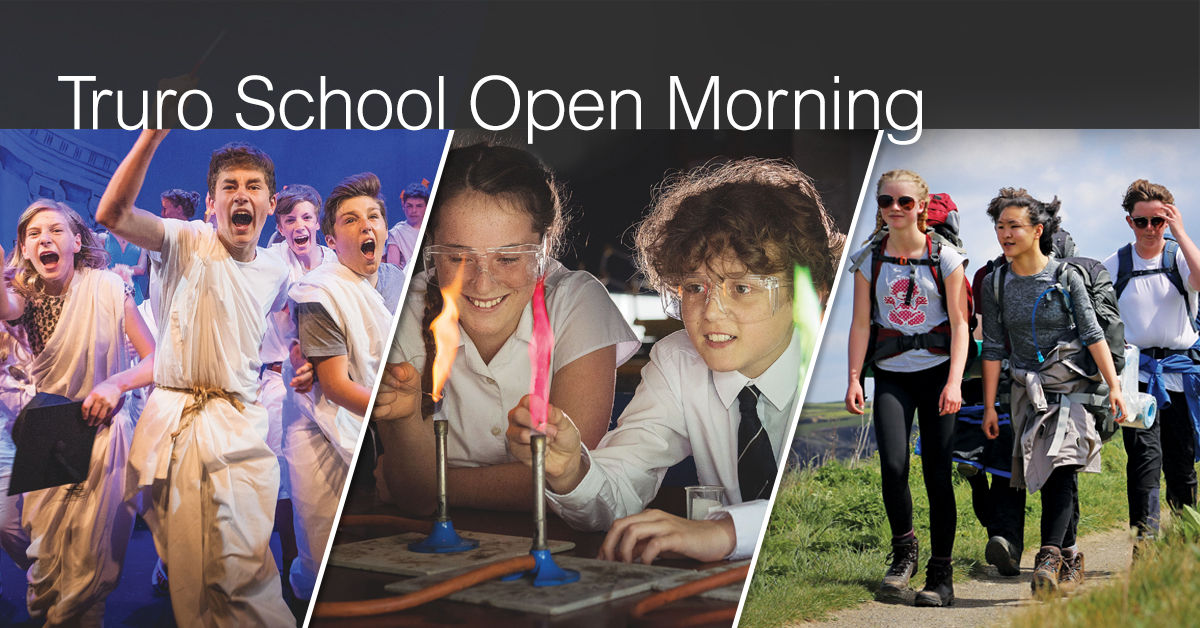 Truro School Open Morning 2017