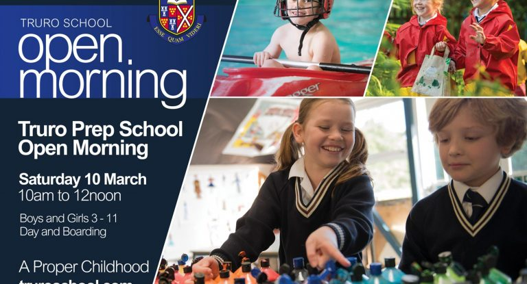 Prep School, Cornwall, Open Events