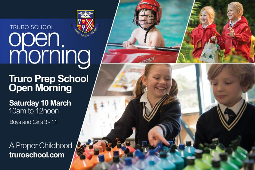 Truro Prep School Open Morning 2018, Cornwall