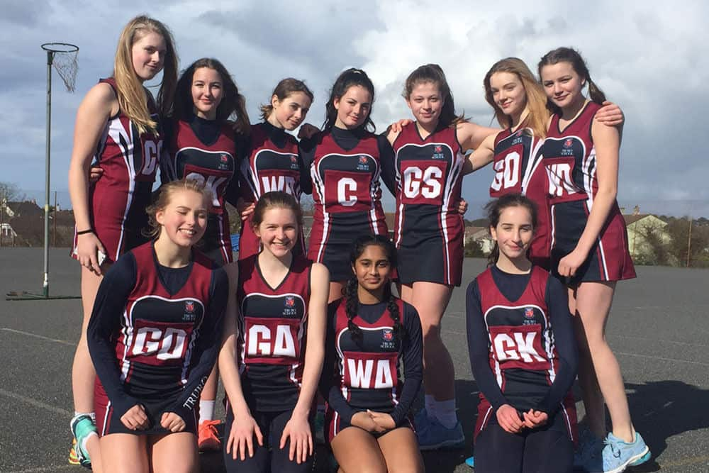 Netball Champions in Cornwall - Truro Under 15