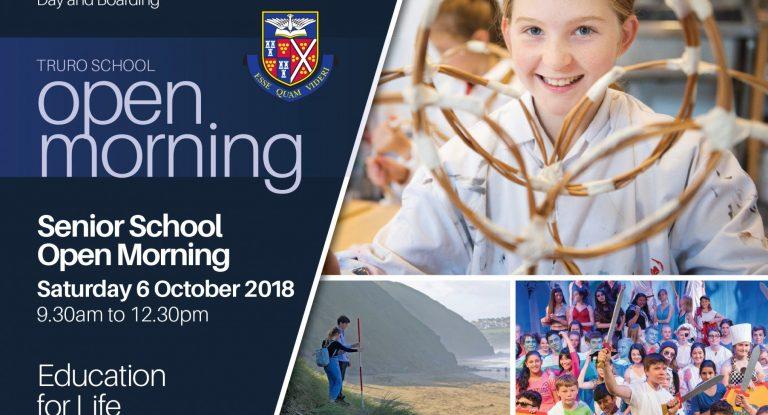 Independent School Cornwall Open Event October Truro School